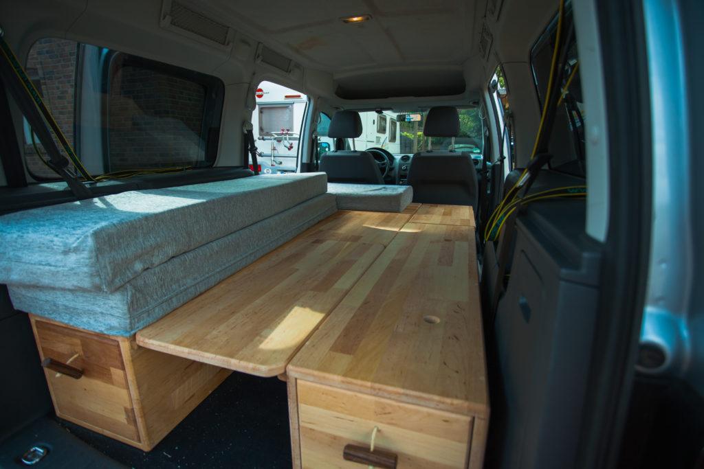 Caddy Camping Ausbau : vw caddy camper ausbau camping ausbau aus kleintransporter wird camper ~ Aude.kayakingforconservation.com Haus und Dekorationen